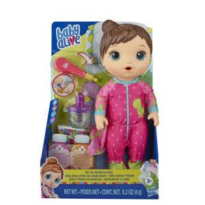 Baby Alive hnědovlasá panenka All Better Baby