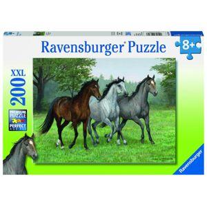 Ravensburger Divocí koně; 200 dílků