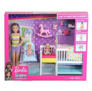 Mattel Barbie Herní set Dětský pokojík