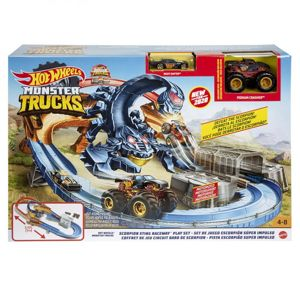 Hot Wheels Monster truck Škorpion Herní set
