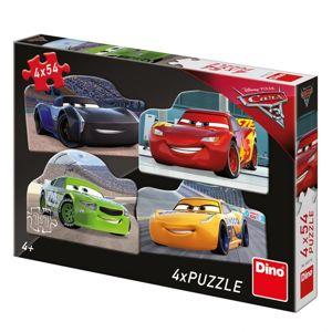 Walt Disney Cars 3: Rivalové 4x54D