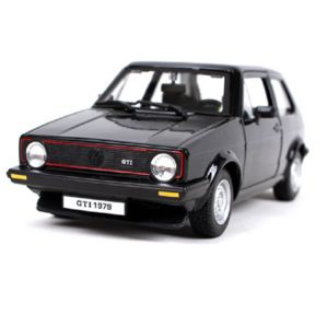 Bburago 1:24 Plus Volkswagen Golf MK1 GTI Black