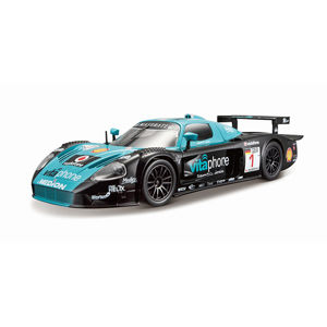Bburago 1:24 Race Maserati MC12 Black/Blue