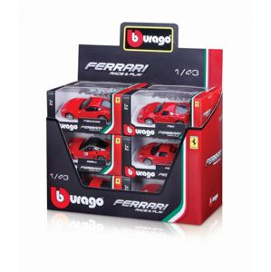 Bburago 1:43 Ferrari (2x12 DISPLAY) 24ks ASST