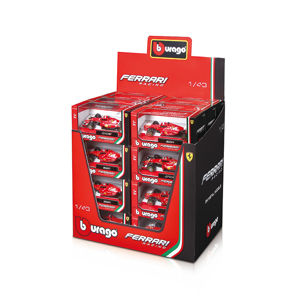 Bburago 1:43 Ferrari Racing F1 (2 x 24 DISPLAY) 48ks ASST