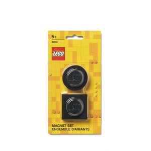 LEGO magnetky, set 2 ks - černá