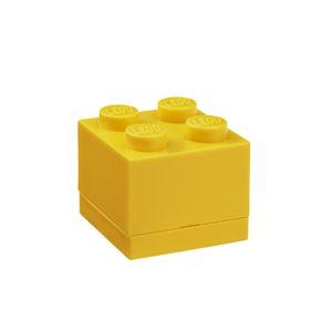 LEGO Mini Box 46 x 46 x 43 - žlutá