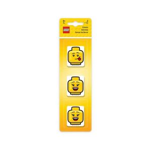 LEGO Iconic Guma LEGO hlavy - 3 ks