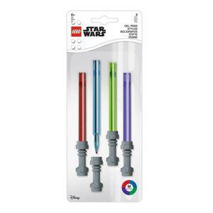 LEGO Star Wars Set Gelových per, světelný meč - 4 ks
