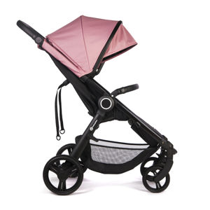 Petite & Mars Stříška + polstrování Street+ Rose Pink 2020 Petite&Mars