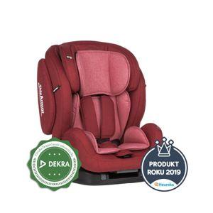 Petite&Mars Autosedačka Prime II Isofix Red 9-36 kg