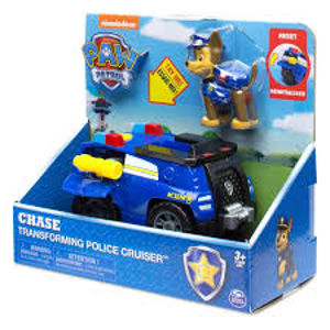 Spin Master Paw Patrol základní vozidla s figurkou - Chase