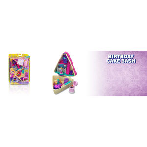 Mattel Polly Pocket Pidi svět do kapsy - Birthday Cake Bash