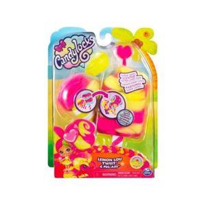 Spin Master Candylocks Voňavá panenka se zvířátkem - Lemon Lou Twist a Peg-Asis