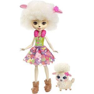 Mattel Enchantimals panenka a zvířátko - Ovce