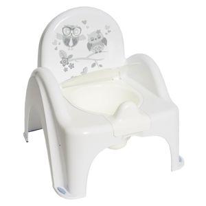 Tega Nočník - židlička Sova bílá
