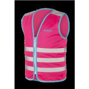 WOWOW - dětská reflexní vesta - Wowow Jacket Pink S