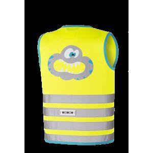 WOWOW - dětská reflexní vesta - Crazy Monster Jacket Yellow XS