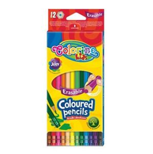 COLORINO pastelky smazatelné, 12 barev