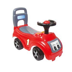 DOLU Odrážedlo auto červené s opěradlem
