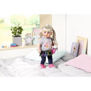 ZAPF CREATION  Starší sestřička BABY born Soft Touch blondýnka, 43 cm - poškozený obal