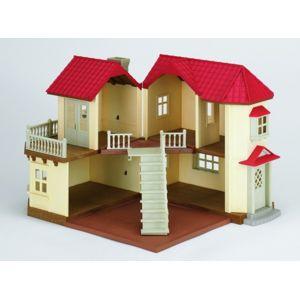 Sylvanian Families Dárkový set - Městský dům se světly, nábytkem a postavičkami - poškozený obal