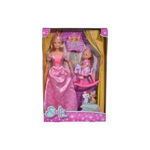 SIMBA S 5733223 Panenka Steffi Princess Family-poškozené zboží