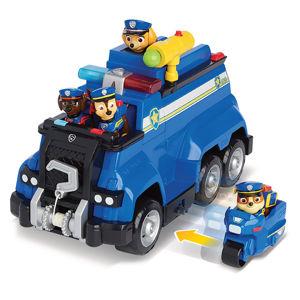 SPIN MASTER 106046716 PAW PATROL VELKÝ POLICEJNÍ VŮZ S EFEKTY A MOTORKOU - poškozený obal