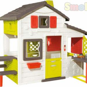 SMOBY SM 810200 Domeček Friends House s kuchyní - poškozený obal