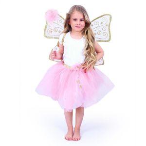 RAPPA Dětský kostým tutu sukně s křídly