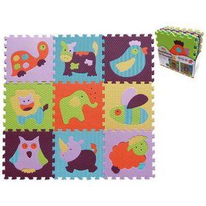 SMT  Pěnové puzzle 9ks zvířata