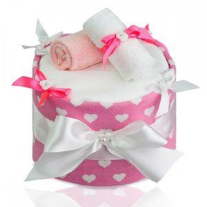 T-TOMI Plenkový dort LUX, large hearts /velká srdíčka