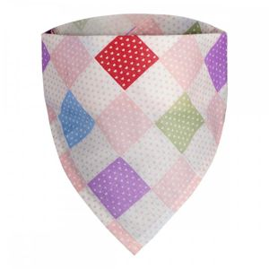 T-TOMI Dětský šátek, squares / čtverce