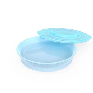 Twistshake Talíř 6+m Pastelově modrá