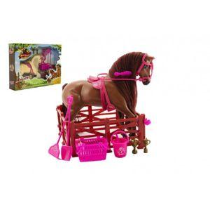 Teddies kůň česací s doplňky