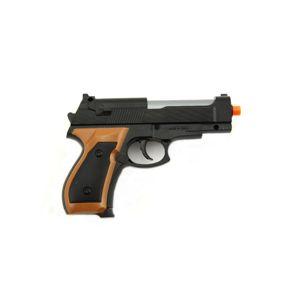 Teddies Pistole se zásobníkem na kuličky 15cm + kuličky plast