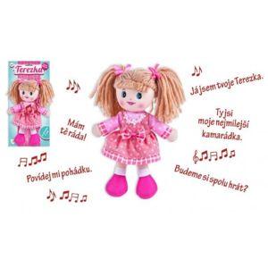 Teddies panenka Terezka - česky mluvící